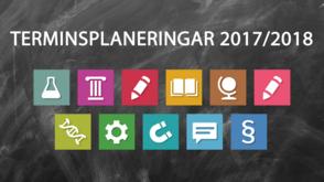 Terminsplaneringar 2017/2018 - Clio Online