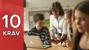 10 krav du borde ställa på ditt digitala läromedel