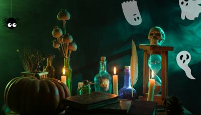 Hårresande aktiviteter inför halloween